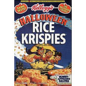 Halloween Rice Krispies Cereal