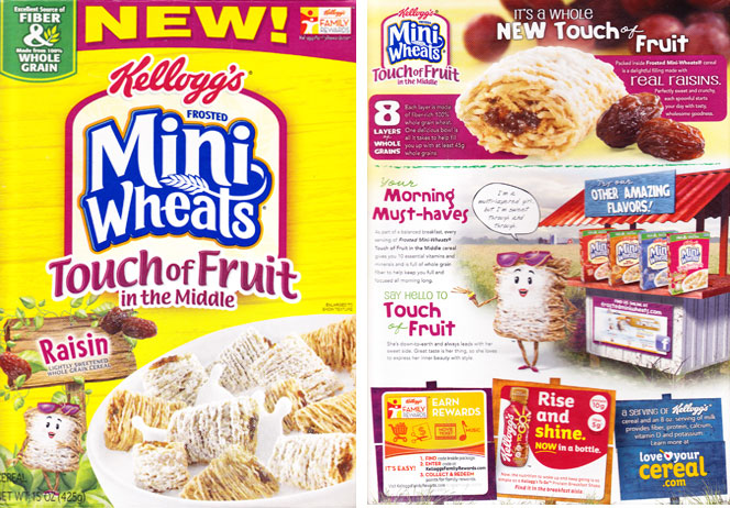 Frosted Mini-Wheats: Touch Of Fruit