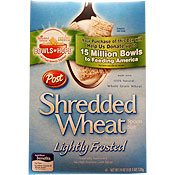 Lightly Frosted Shredded Wheat
