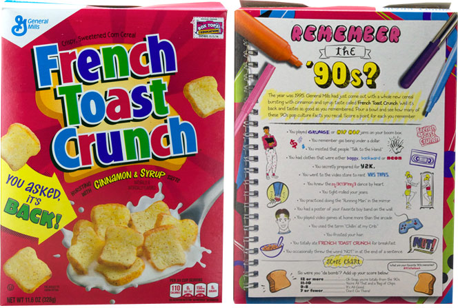 French Toast Crunch Relaunched