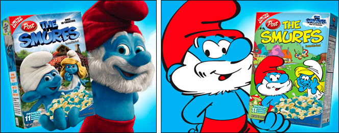 The Smurfs Cereal
