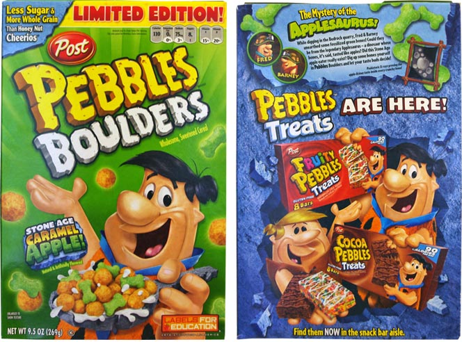 Pebbles Boulders: Stone Age Caramel Apple!