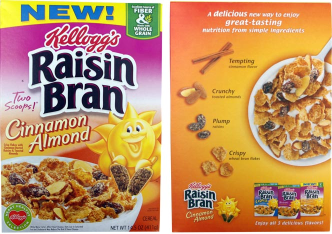 Kellogg's Raisin Bran Crunch Apple Strawberry. Delicious raisins, toasted flakes and crunchy apple and strawberry flavored oat clusters. Kellogg's® Introduces A Sweet New Twist On A Fan-Favorite With New Strawberry Krispies® Kellogg's® Beloved Honey Smacks® Cereal Returns To Shelves. Go Places Visit the Kellogg Company site, explore.