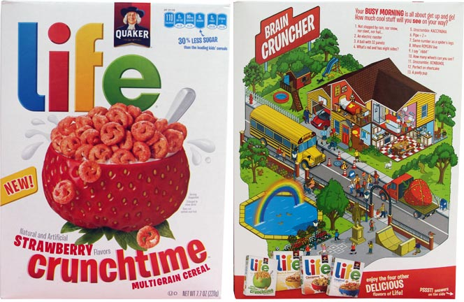 Life Crunchtime Cereal - Strawberry