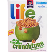 Life Crunchtime - Apple Cinnamon