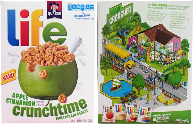 Life Crunchtime Cereal - Apple Cinnamon