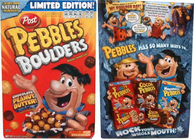 Pebbles Boulders: Chocolate Peanut Butter
