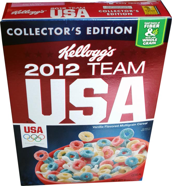 Kellogg's 2012 Team USA Cereal - Front