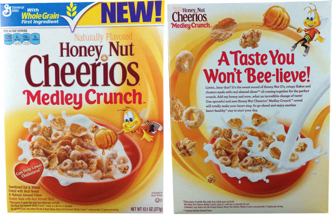 honey nut cheerios medley crunch cereal mrbreakfast com