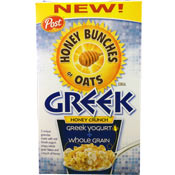 Honey Bunches of Oats: Greek Honey Crunch