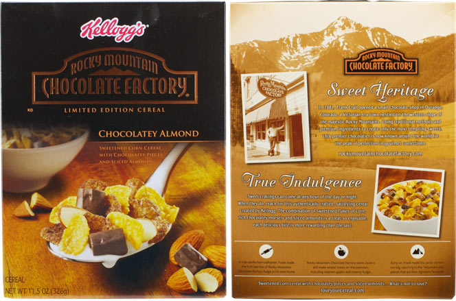Rocky Mountain Chocolate Factory Cereal Profile