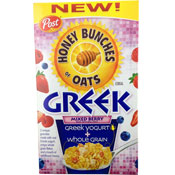 Honey Bunches of Oats: Greek Mixed Berry