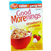 Good Morenings: Strawberry And Creme