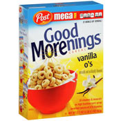 Good Morenings: Vanilla O's