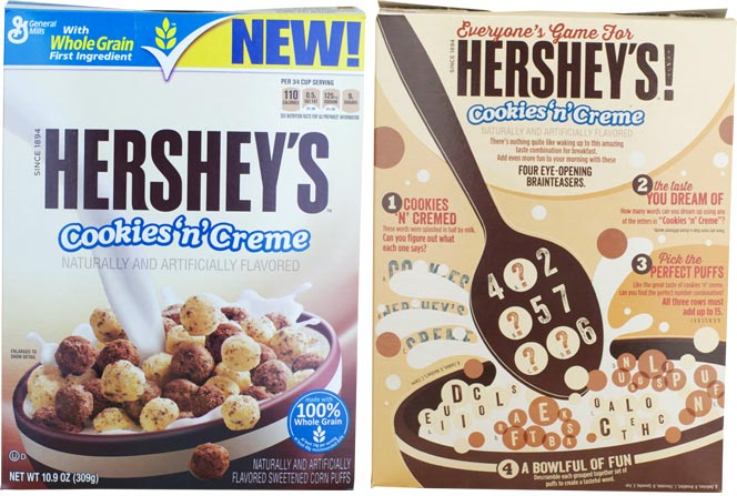 Hershey's Cookies 'n' Cream Cereal