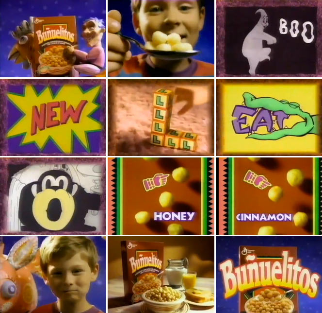 Bunuelitos Cereal TV Ad