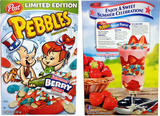 Summer Berry Pebbles Cereal Profile