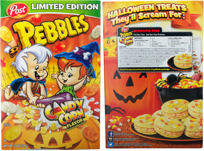 Candy Corn Pebbles Cereal Profile