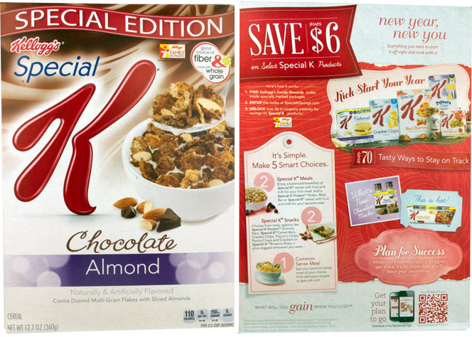 Chocolate Almond Special K Cereal Profile