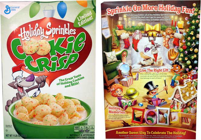 Holiday Sprinkles Cookie Crisp Cereal Profile