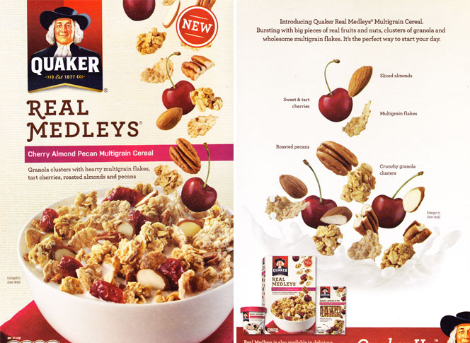 Cherry Almond Pecan Real Medleys Cereal Profile