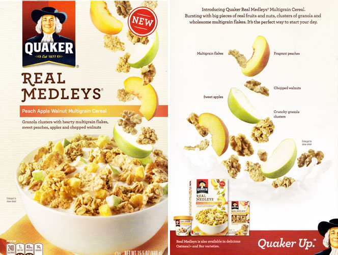 Peach Apple Walnut Real Medleys Cereal Profile