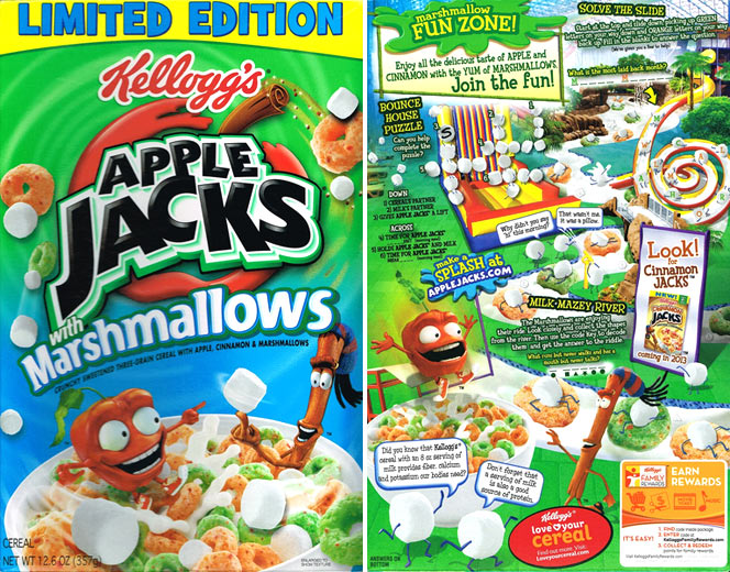 Apple Jacks With Marshmallows Cereal Profile