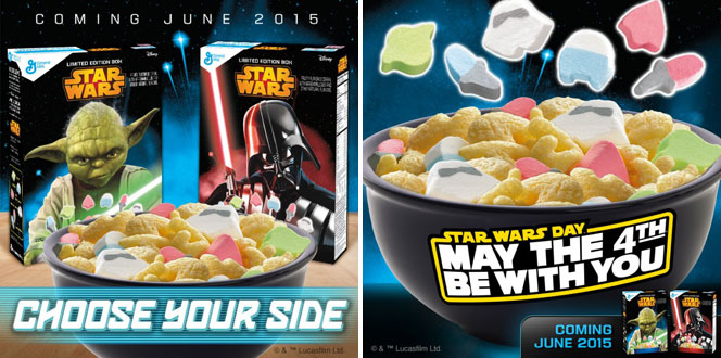 Introducing 2015 Star Wars Cereal From General Mills