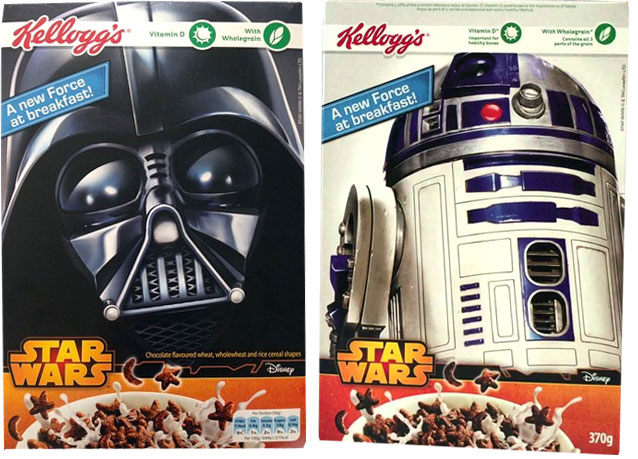 Kellogg's 2015 UK Star Wars Cereal