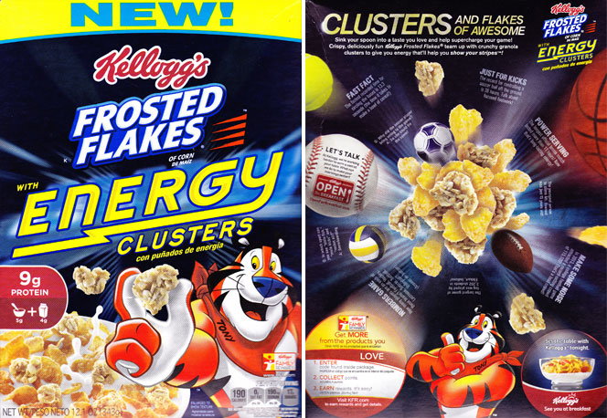 Frosted Flakes With Energy Clusters Cereal has been reviewed on ...