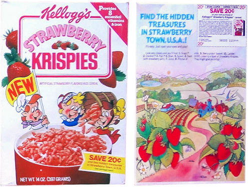 Strawberry Krispies Cereal Profile