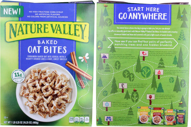 Nature Valley Baked Oat Bites Cereal Profile