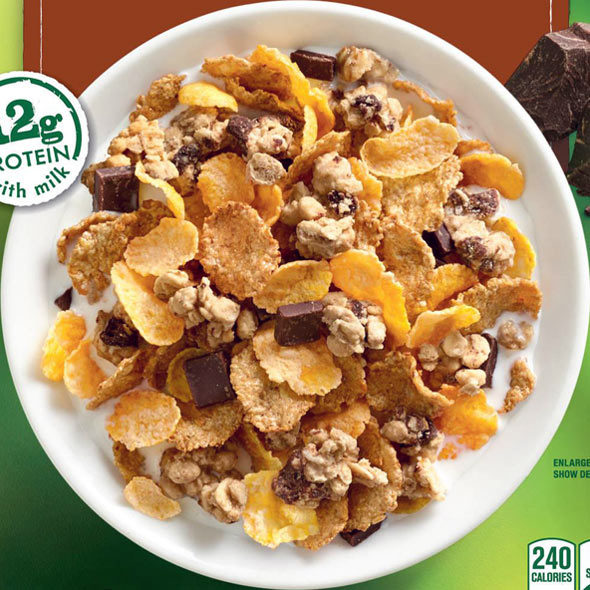Nature Valley Chocolate Oat Clusters Cereal