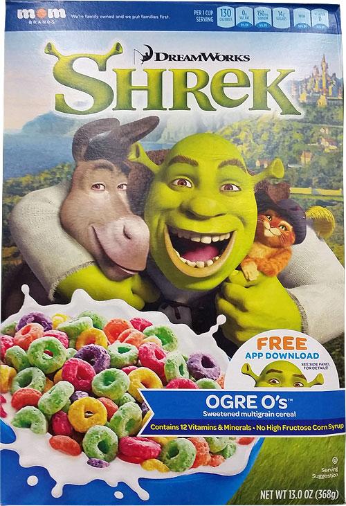 Shrek Ogre O's Cereal | MrBreakfast com