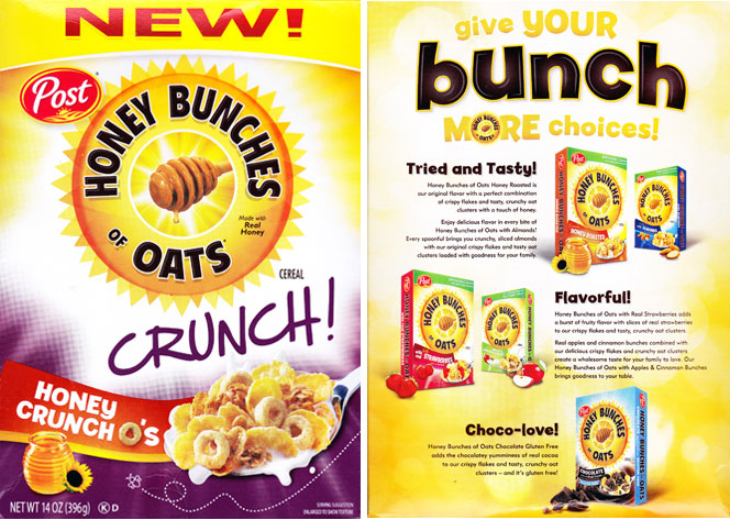 Honey Bunches of Oats Honey Crunch O's Cereal Profile