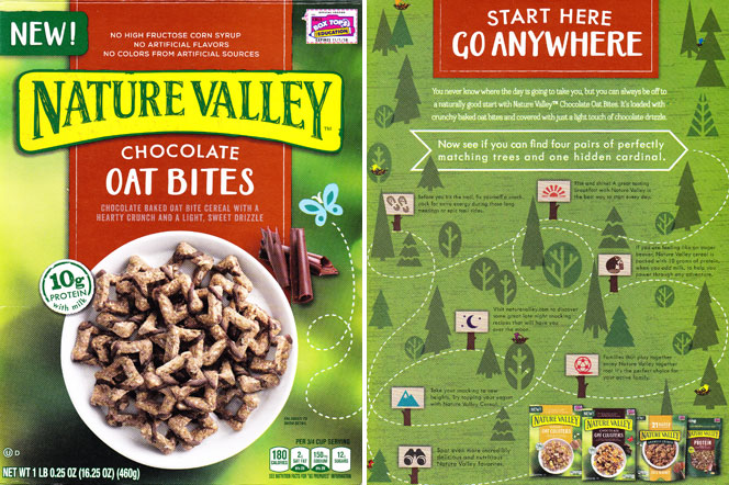 Nature Valley Chocolate Oat Bites Cereal Profile
