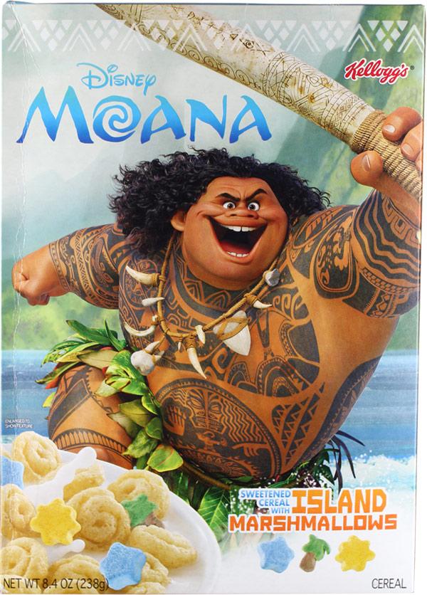 Moana Cereal Mrbreakfast Com