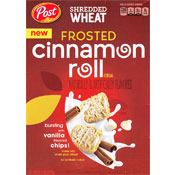 Cinnamon Roll Shredded Wheat