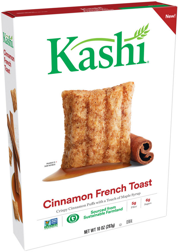 Kashi Cinnamon French Toast Cereal Box