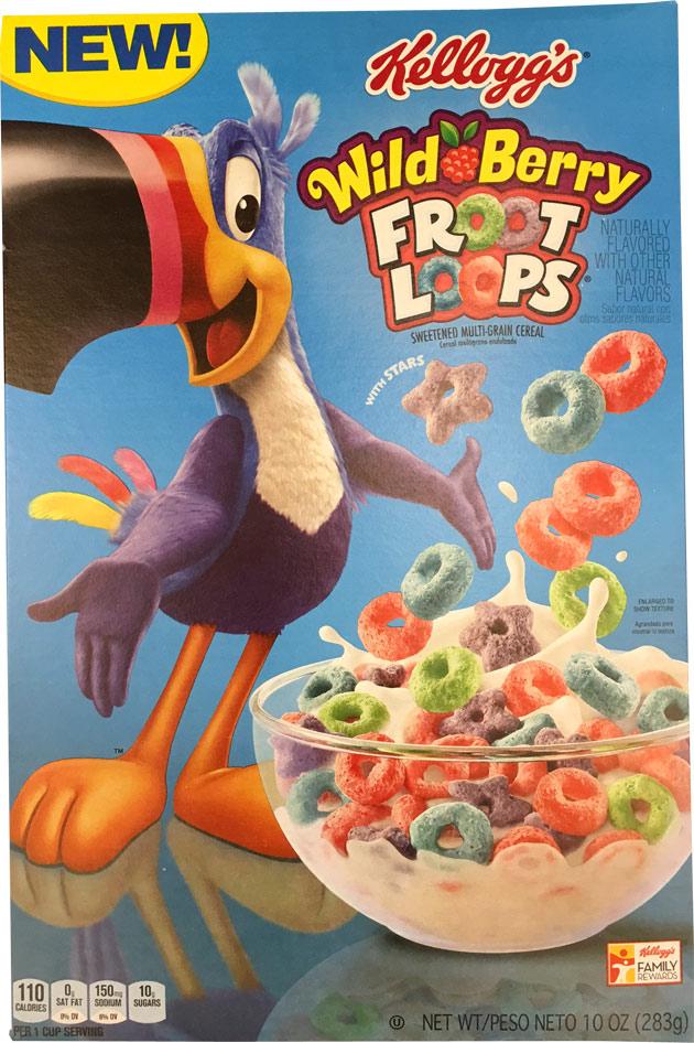 Wild Berry Froot Loops Cereal