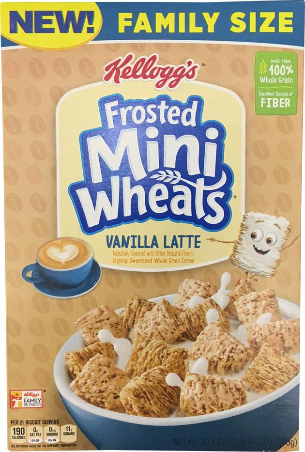 Frosted Mini-Wheats: Vanilla Latte