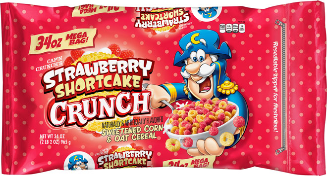Strawberry Shortcake Crunch Cereal Package