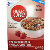 Fiber One - Strawberries & Vanilla Clusters