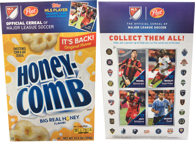 Honey-Comb Cereal Original Flavor 2018