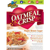 Oatmeal Crisp: Maple Brown Sugar