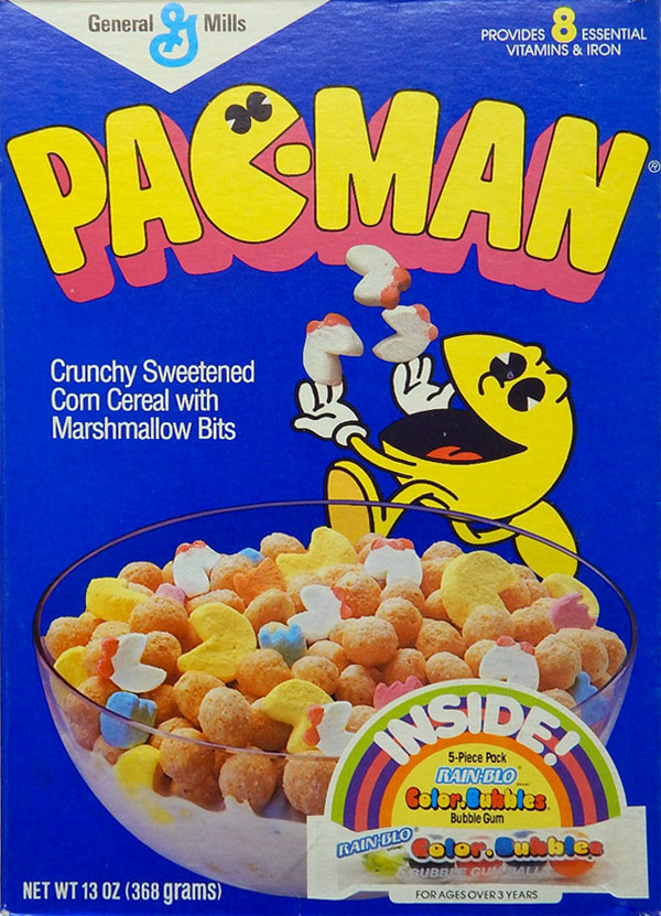 Pac-Man Cereal Profile