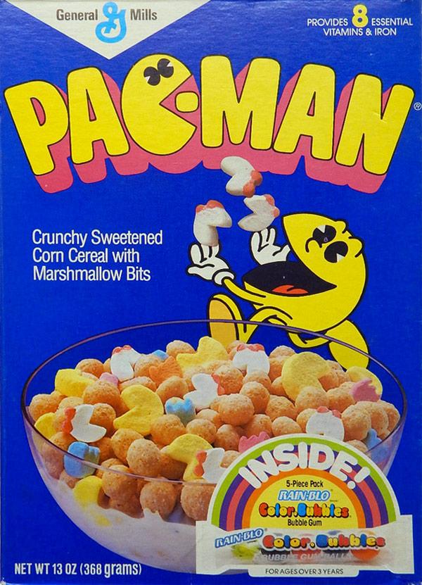 pac man cereal mrbreakfast com