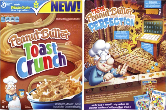 2013 Peanut Butter Toast Crunch Box