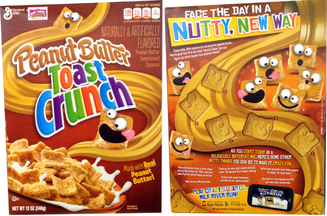2014 Peanut Butter Toast Crunch Box
