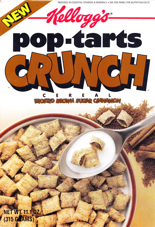 Frosted Brown Sugar Cinnamon Pop-Tarts Crunch